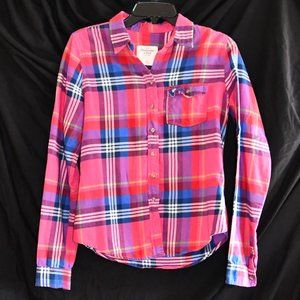 Abercrombie & Fitch Plaid Button-Down